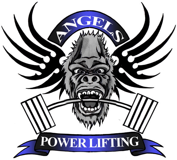 Angels Powerlifting logo