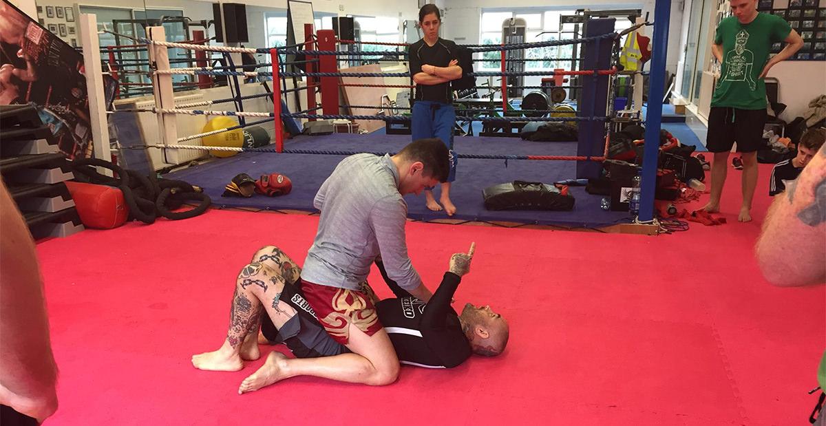 photo of Jiu-Jitsu class